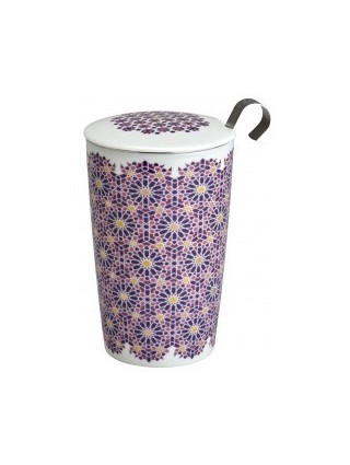 Cup Double Walled Mug Andalusia Berry
