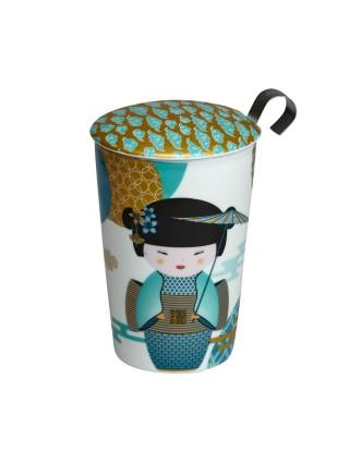 "Cup Double Walled Mug ""New Little Geisha"""