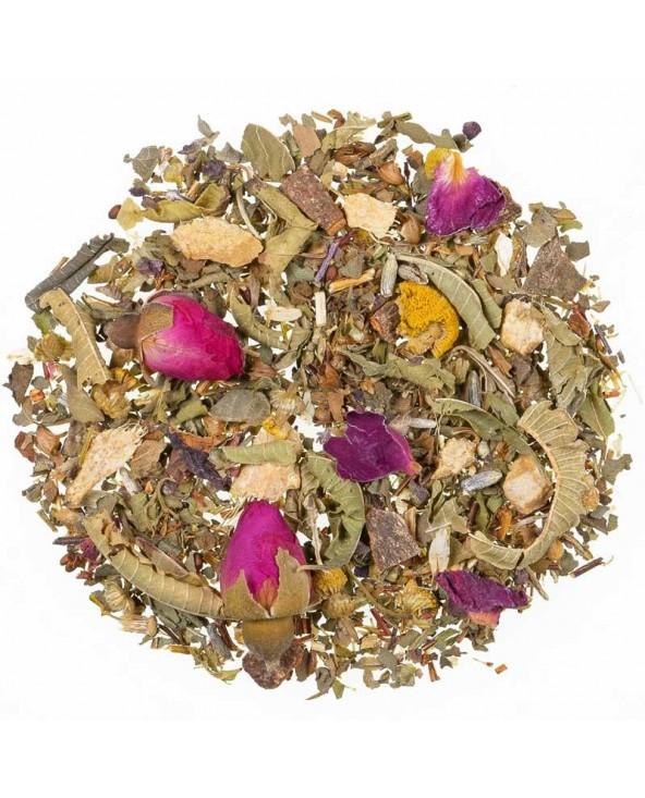 Herb Tea Tulsi Peach Ayurveda