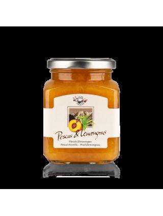 Jam Peach & Lemongras 335gr