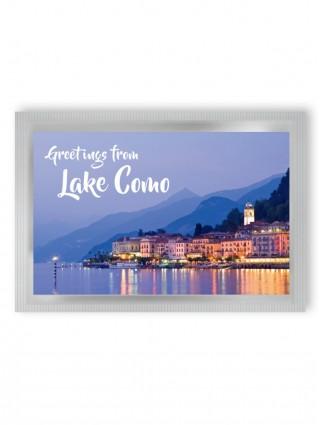 "Pyramid Tea Postcard ""LAKE COMO"""