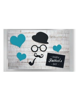 "Pyramid Tea Postcard ""father day"""