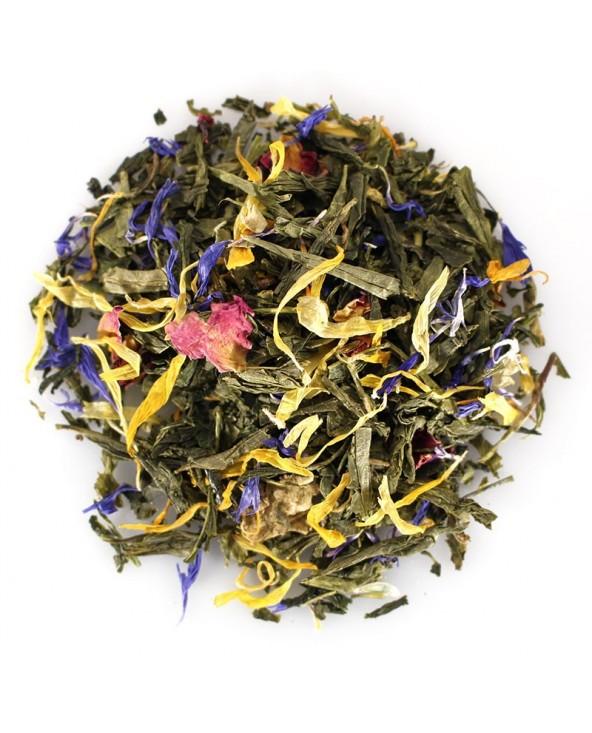 Green Tea Flower Power