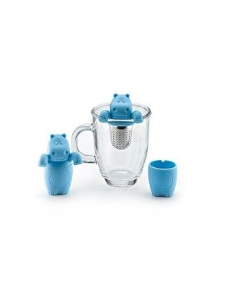 Infuser Tea Strainer Hippo